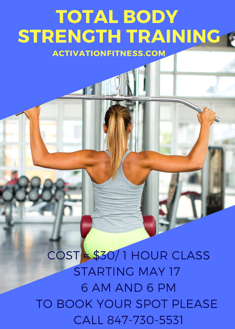 New at Activation Fitness_ Group Strength Training –