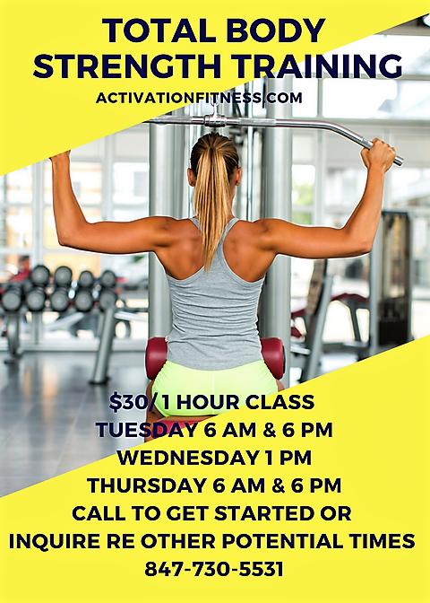 New at Activation Fitness_ Group Strength Training – (1)